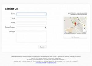 Formulaires HTML5 avec Google Maps
