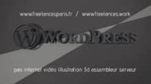 wordpress video pao internet illustration 3d freelancesparis hackintosh assembleur serveur